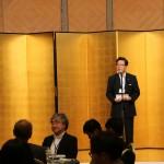 懇親会での北橋健治北九州市長の挨拶